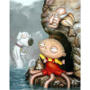 """Wait A Second"" Canvas Giclee by Greg Simkins"
