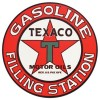 Texaco Star Vintage Metal Sign- 25.5 inch