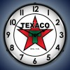 Texaco Star Lighted Retro Clock