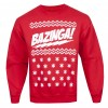 The Big Bang Theory Holiday Bazinga Long-Sleeve T-Shirt